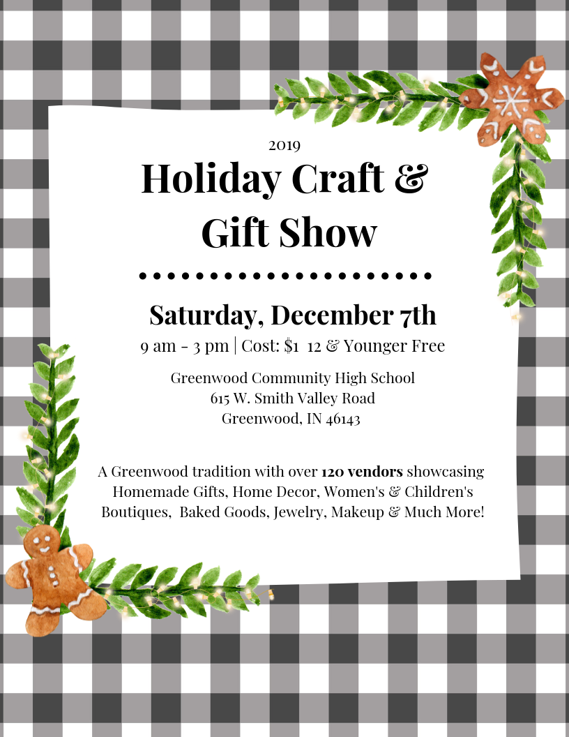 2019 Holiday Craft Amp Gift Show ⋆ The Social Of Greenwood